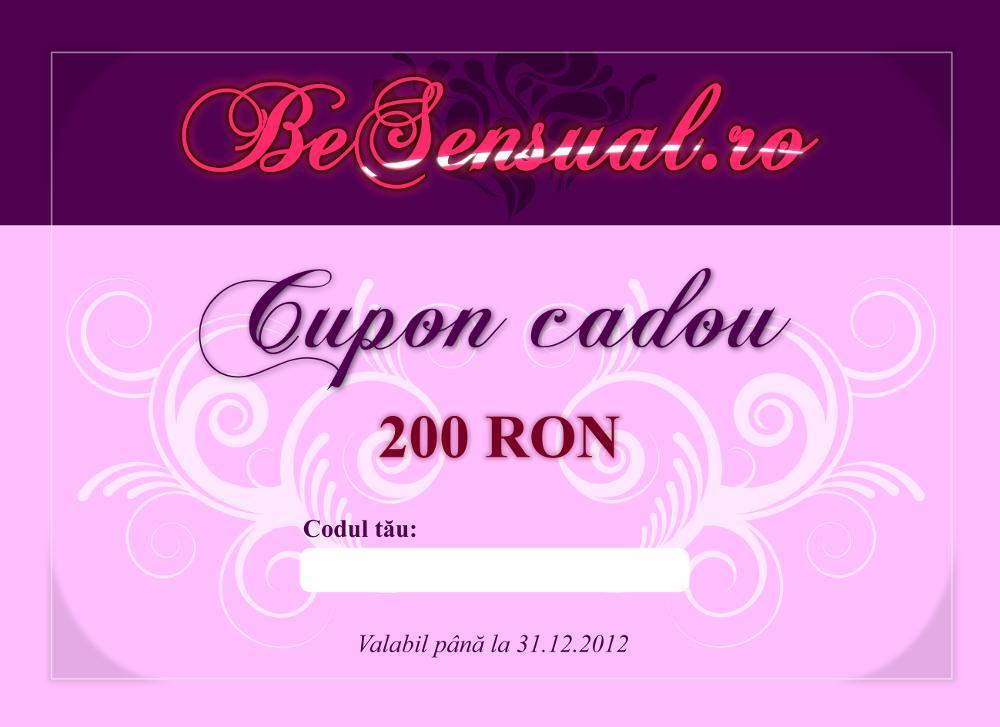 BeSensual Cupon Cadou 200 RON
