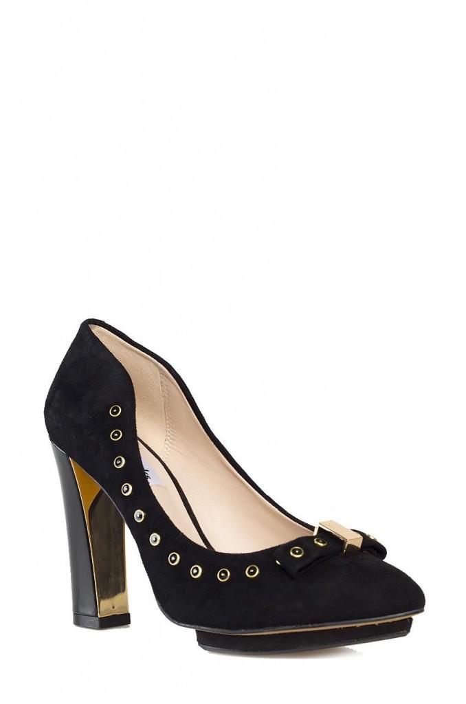 Clarks Pantofi Dama Clarks Negru 4961-OBD198