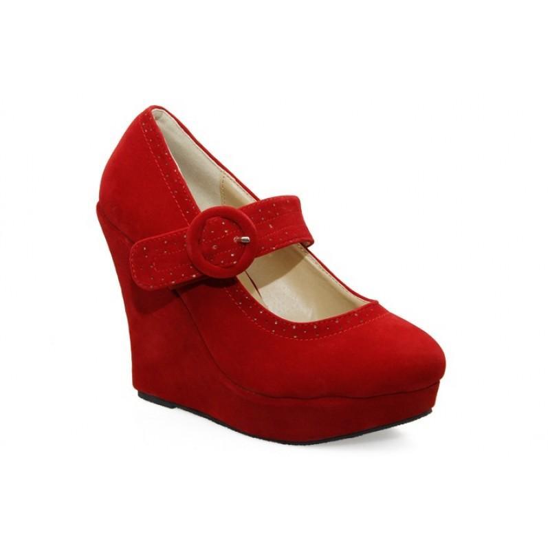 Pantofi dama rosii Norina1