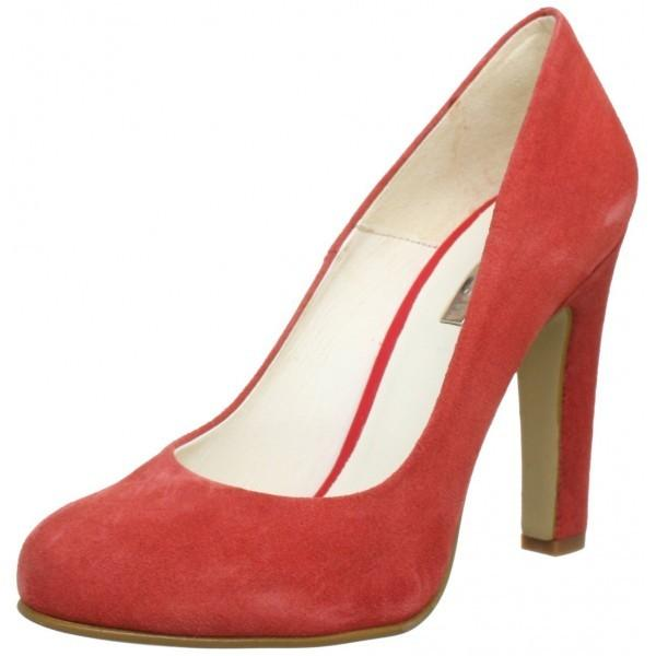 Johannes W. GDY41 Pantofi din piele intoarsa eleganti cu toc