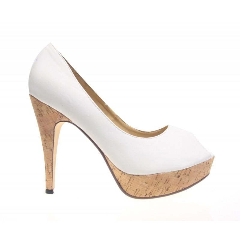 Pantofi dama albi Lana
