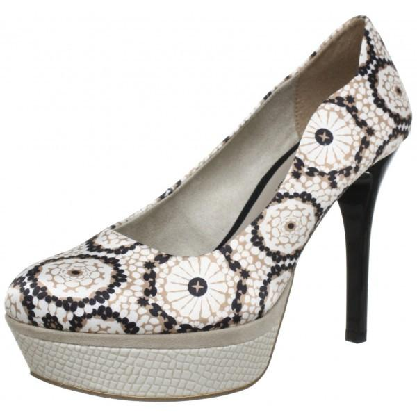 Tamaris GDY109 Pantofi cu toc si model vintage