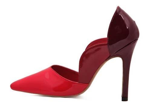 CH2263-3 Pantofi eleganti de ocazie cu toc inalt