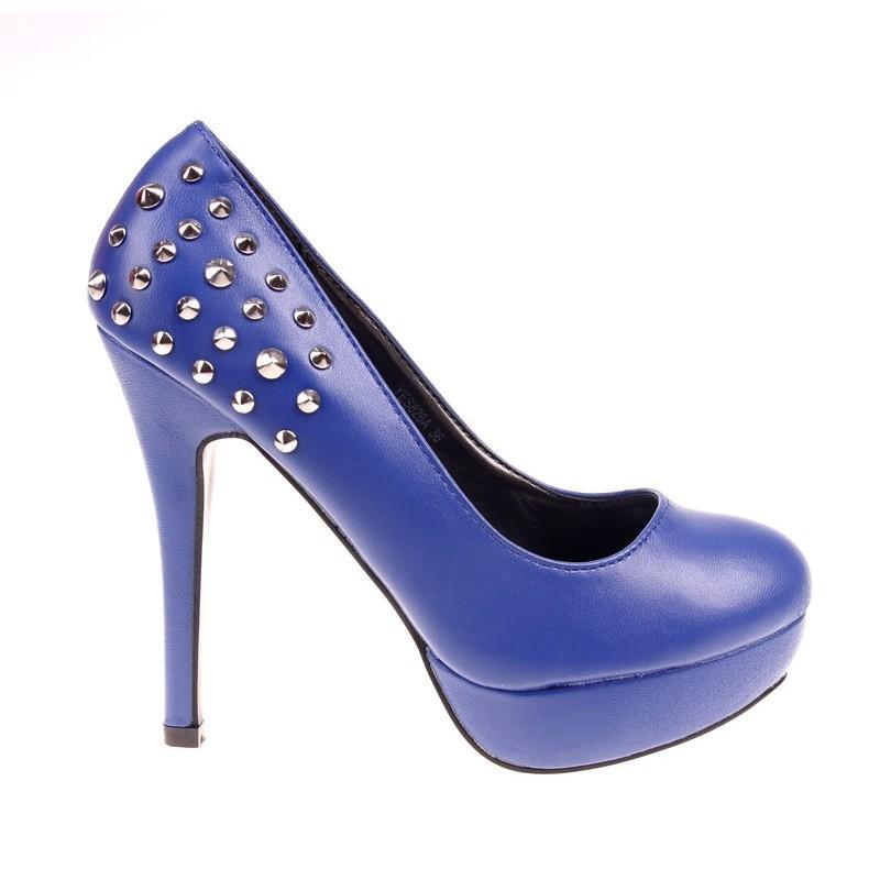 Pantofi dama albastri Skyler